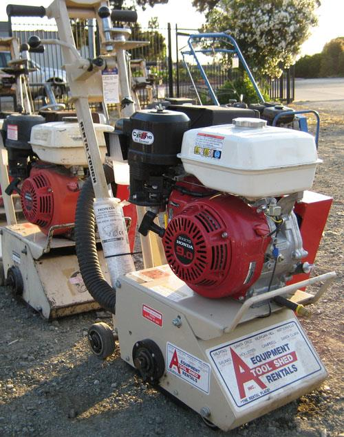 Where to find GAS COMPACT CONCRETE PLANER in Santa Clara
