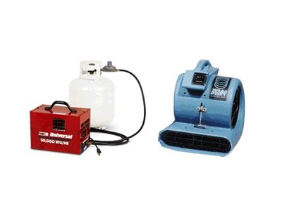 Rent Heater - Dehumidifier - Blower & Fan