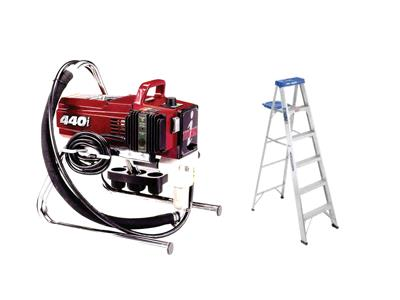 Rent Painting - Airless - Ladder & Pressure Washer