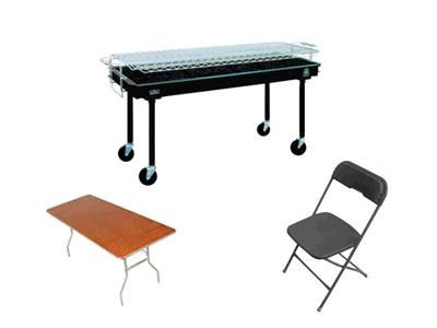 Rent Barbeque - Table & Chair