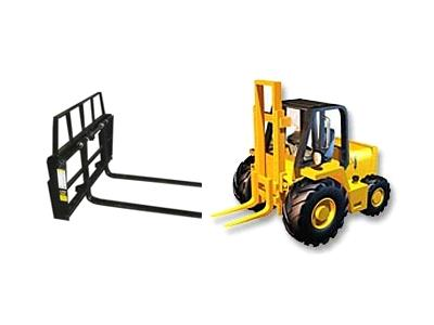 Rent Forklift & Attachment