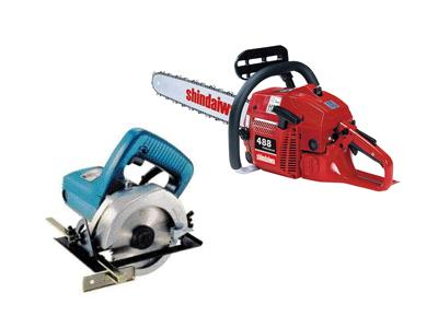 Rent Saws - Tile - Concrete - Tree - Steel & Wood
