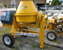 Rental store for 9 CU FT TOWABLE GAS CONCRETE MIXER in Santa Clara CA