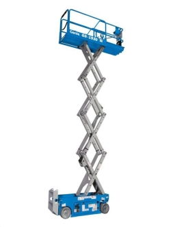 Rental store for 19  GENIE GS-1930 ELECTRIC SCISSOR LIFT in Santa Clara CA