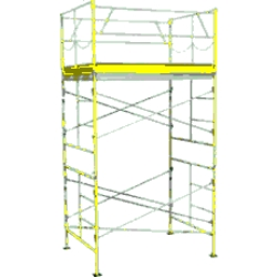 Rental store for 10  ROLLING SCAFFOLDING TOWER in Santa Clara CA