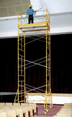 Rental store for 15  ROLLING SCAFFOLDING TOWER in Santa Clara CA