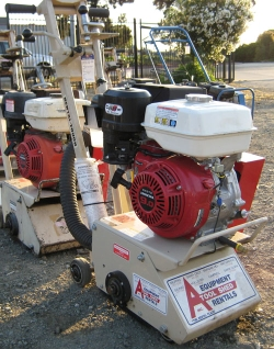 Used Equipment Sales GAS COMPACT CONCRETE PLANER in Santa Clara CA