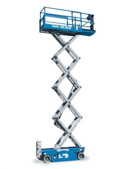 Rental store for 26  GENIE GS-2632 ELECTRIC SCISSOR LIFT in Santa Clara CA