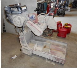 Used Equipment Sales GAS BRICK SAW in Santa Clara CA