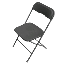Rental store for BLACK FOLDING CHAIRS in Santa Clara CA