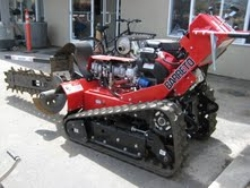 Used Equipment Sales WALK BEHIND TRACK TRENCHER, 36  DEPTH in Santa Clara CA