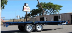 Rental store for 8  x18  DECK OVER TRAILER in Santa Clara CA