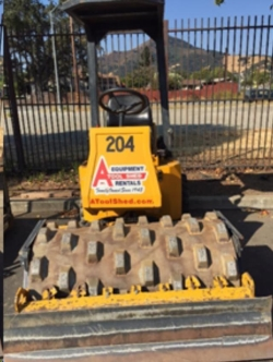 Rental store for 48  VIBRATORY SHEEPSFOOT ROLLER in Santa Clara CA