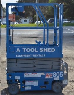 Rental store for 13  GENIE GS-1330 ELECTRIC SCISSOR LIFT in Santa Clara CA