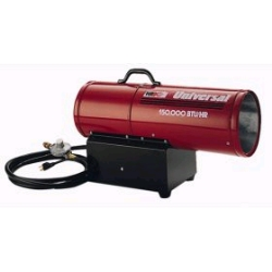 Rental store for 150,000 BTU FORCED AIR PROPANE HEATER in Santa Clara CA