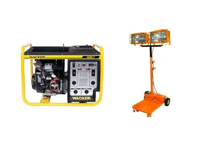 Generator and Lighting Equipment Rentals in Santa Clara, CA