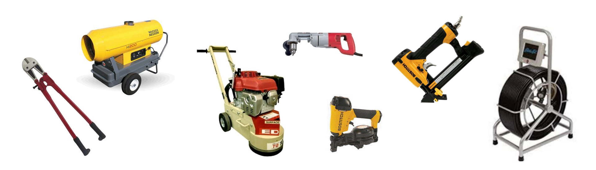 Contractor Equipment Rentals in Santa Clara County & the Silicon Valley